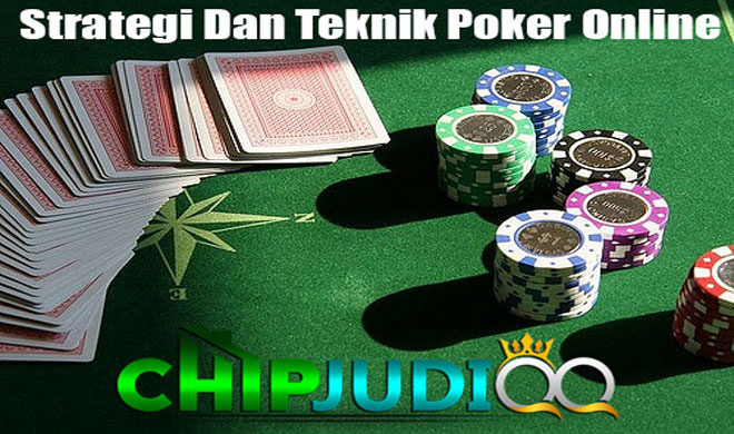 Strategi-Main-Poker-Dan-Teknik-Main-Poker-Online