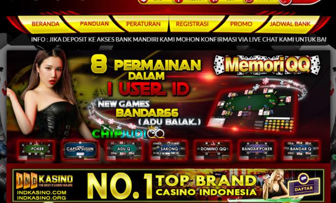 MemoriQQ Situs Agen Poker Online Terpercaya Di Indonesia 2018