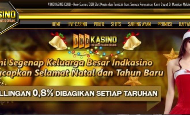 Indkasino Situs Agen Judi Casino Online Terpercaya Di Indonesia
