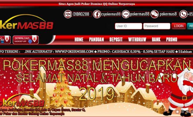 Pokermas88 Situs Judi Poker Online Terpercaya Di Indonesia
