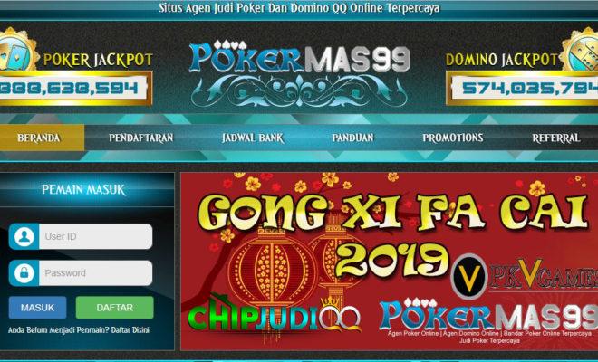 Pokermas99 Situs PKV Games Terpercaya 2019