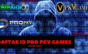 Tips Daftar ID PRO PKV GAMES